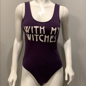 """With My Witches"" Body Suit (2)"